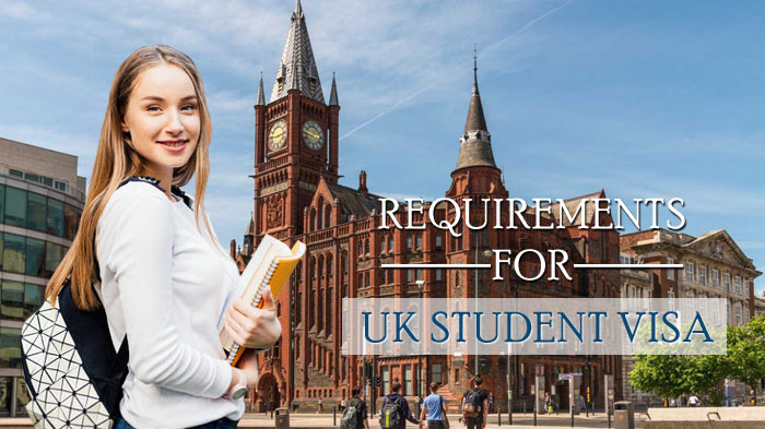 Requirements for UK student visa
